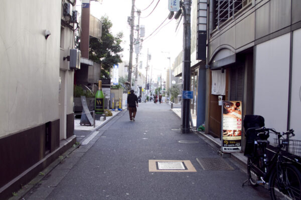 『アマムダコタン表参道店』への道のり